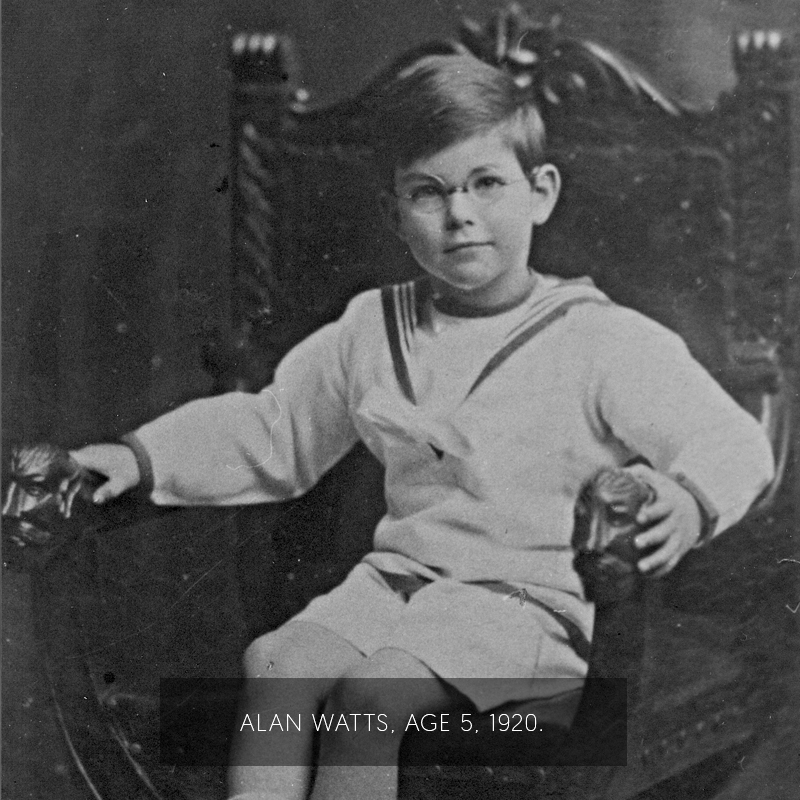 Alan Watts age 7.