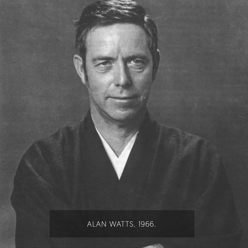 Alan Watts. (1966)