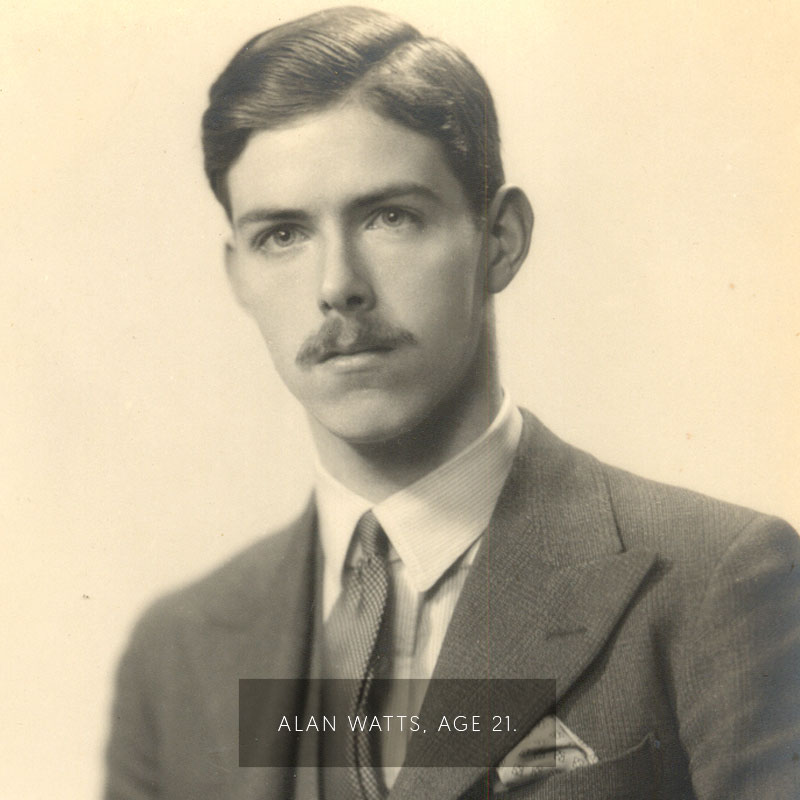 Alan Watts Age 21.