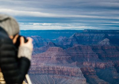Resident photographer, Justin, captures Grand Canyon imagry.
